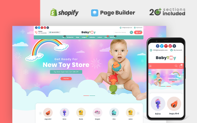 Baby Toys and Accessories Store Shopify Theme