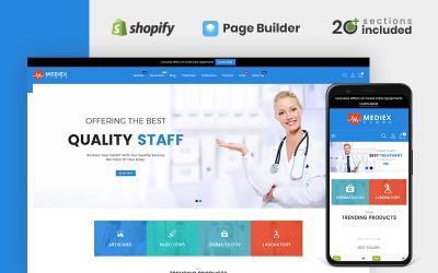Mediex Health & Medicine Store Shopify Theme