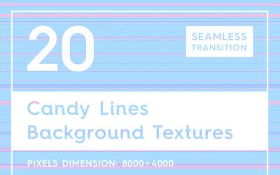 20 цукерки лінії текстури фону