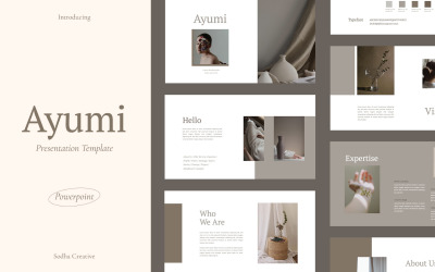 Ayumi PowerPoint template