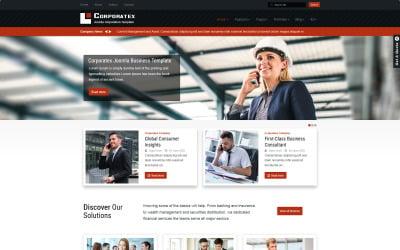 Corporatex Business-Corporation Joomla Template