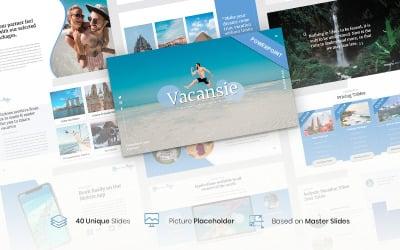Vacansie – Travel Agency PowerPoint Template