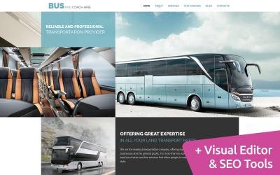 Modèle de société de bus Moto CMS 3