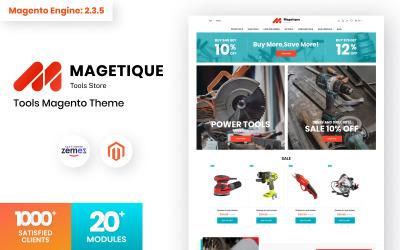 Magetique - Tools Store Magento Theme