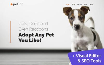 PetInn - Шаблон Moto CMS 3 приюта для животных