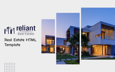 Reliant - Real Estate HTML Website Template