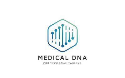 Medical Dna Logo Template