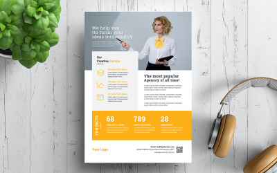 Reality 19 Business Flyer - Corporate Identity Template