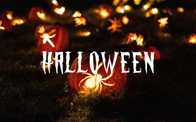 Halloween Horror - HTML   Vintage   Modelo de página de destino responsiva
