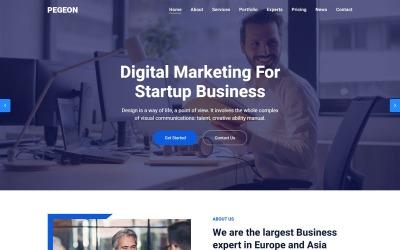 Pegeon - Modello di pagina di destinazione aziendale e di consulenza