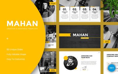 Mahan -Creative & Business - Keynote template
