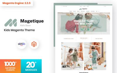Magetique Kids Store Tema Magento