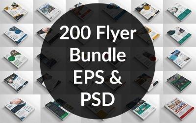 200 Flyer Bundle - Corporate Identity Template