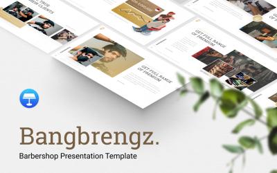 Bangbrengz - Barbershop Presentation - Keynote template