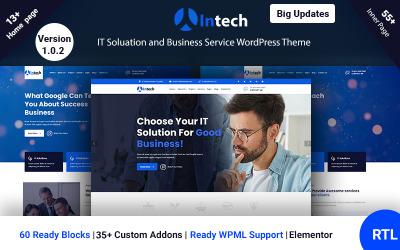 Intech - motyw WordPress dla rozwiązań IT i usług technologicznych