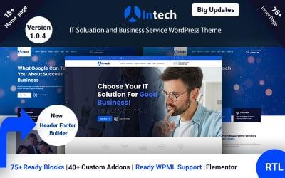 Intech - Tema WordPress de Soluções de TI e Serviços de Tecnologia