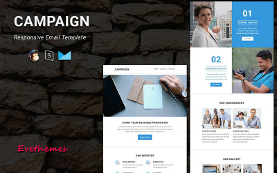 Campaign - Responsive Email Newsletter Template