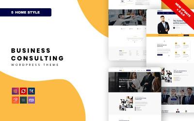 Consulity - WordPress-tema för företagsrådgivning