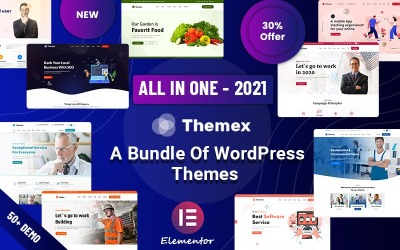 Themex - Tema multiuso responsivo para WordPress