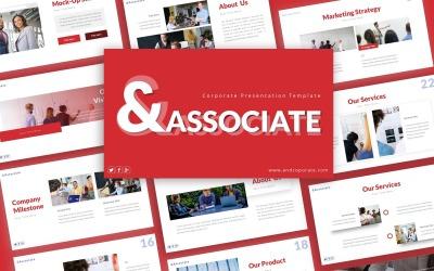 Associate Corporate Presentation PowerPoint template