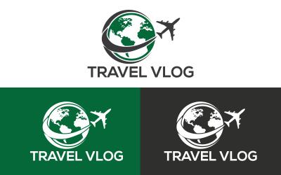 Modèle de logo de voyage