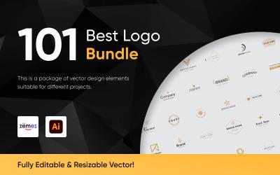 101 бізнес дизайн логотипу шаблон