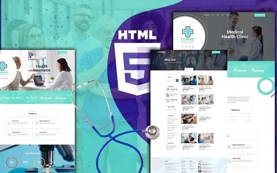 Clinvee   Doctor Medical Clinic Website Template