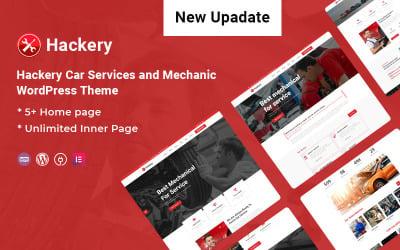 Хакерство - Автомобільні послуги та тема WordPress Mechanic