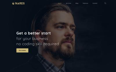 Nares - Többcélú üzleti szolgáltatások WordPress Elementor témával
