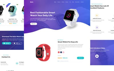 Bailo - Product Landing Page Template