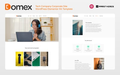 DOMEX - Tech Company Corporate WordPress Elementor Kit