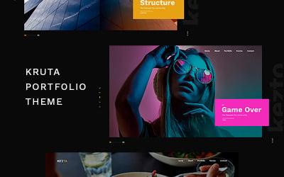 Kruta - Portfolio WordPress Theme