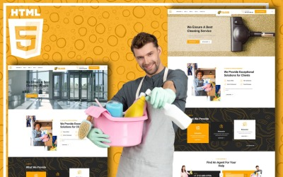 Tiloor - Plantilla para sitio web de servicio de limpieza