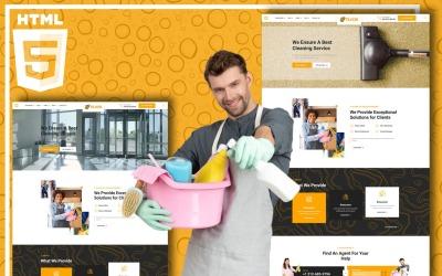 Tiloor-清洁服务网站模板