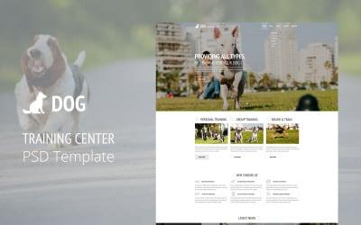 Dog Training PSD Template