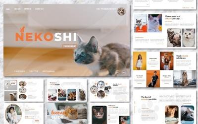 Nekoshi - Szablon prezentacji biznesowych dla zwierząt domowych