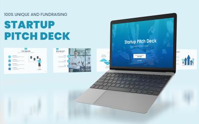 Startup Pitch Deck Presentation - PowerPoint template