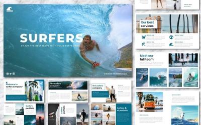 Surfers - Creative Template Google Slides