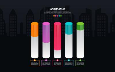 Obnovené infografické prvky údajů o hospodářské krizi