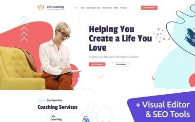 Life Coaching  - Personal Coach Moto CMS 3 Template