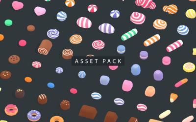 Candy Land - Animation Asset 3D Model