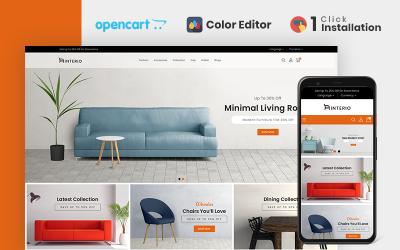 Interio Furniture Store OpenCart Template