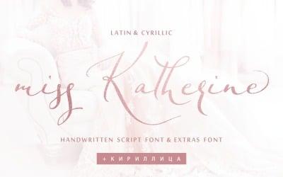 Miss Katherine Font Cyrillic + Extra