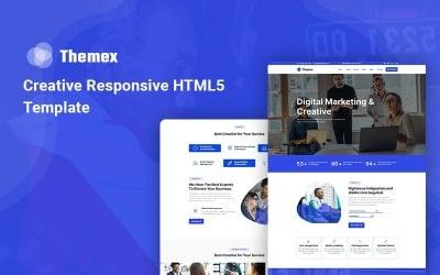 Themex - Creative Responsive Website Template