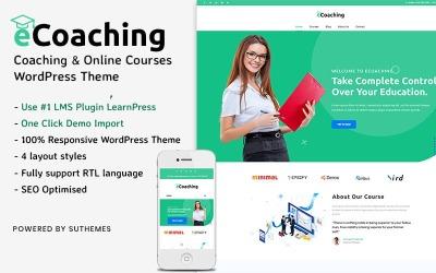 eCoaching - Coaching és online tanfolyamok WordPress téma