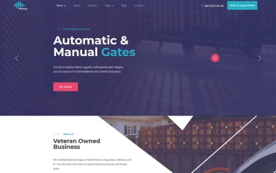 Ufency - Fencing, Gates and Carports WordPress Theme