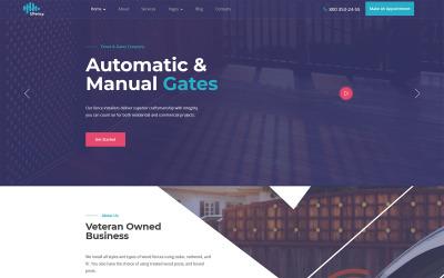 Ufency - Thème WordPress pour clôtures, portails et carports