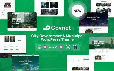 Govnet - Tema WordPress adaptable para el gobierno municipal y municipal