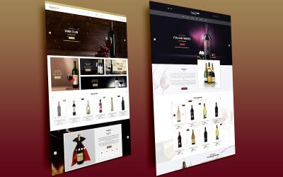 Ressaca PSD para álcool, tabaco, loja de vinhos PSD Template