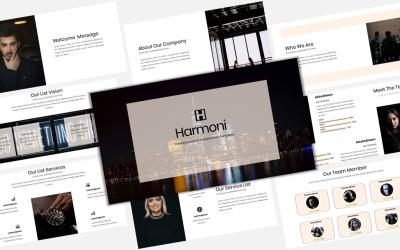 Harmoni - Creative Business PowerPoint template